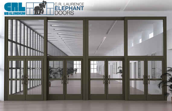 C.R. Laurence Commercial Products - Elephant Doors