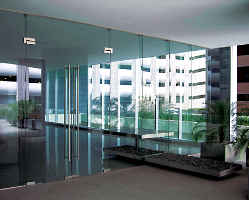 Glass Entrance Door Rail Systems